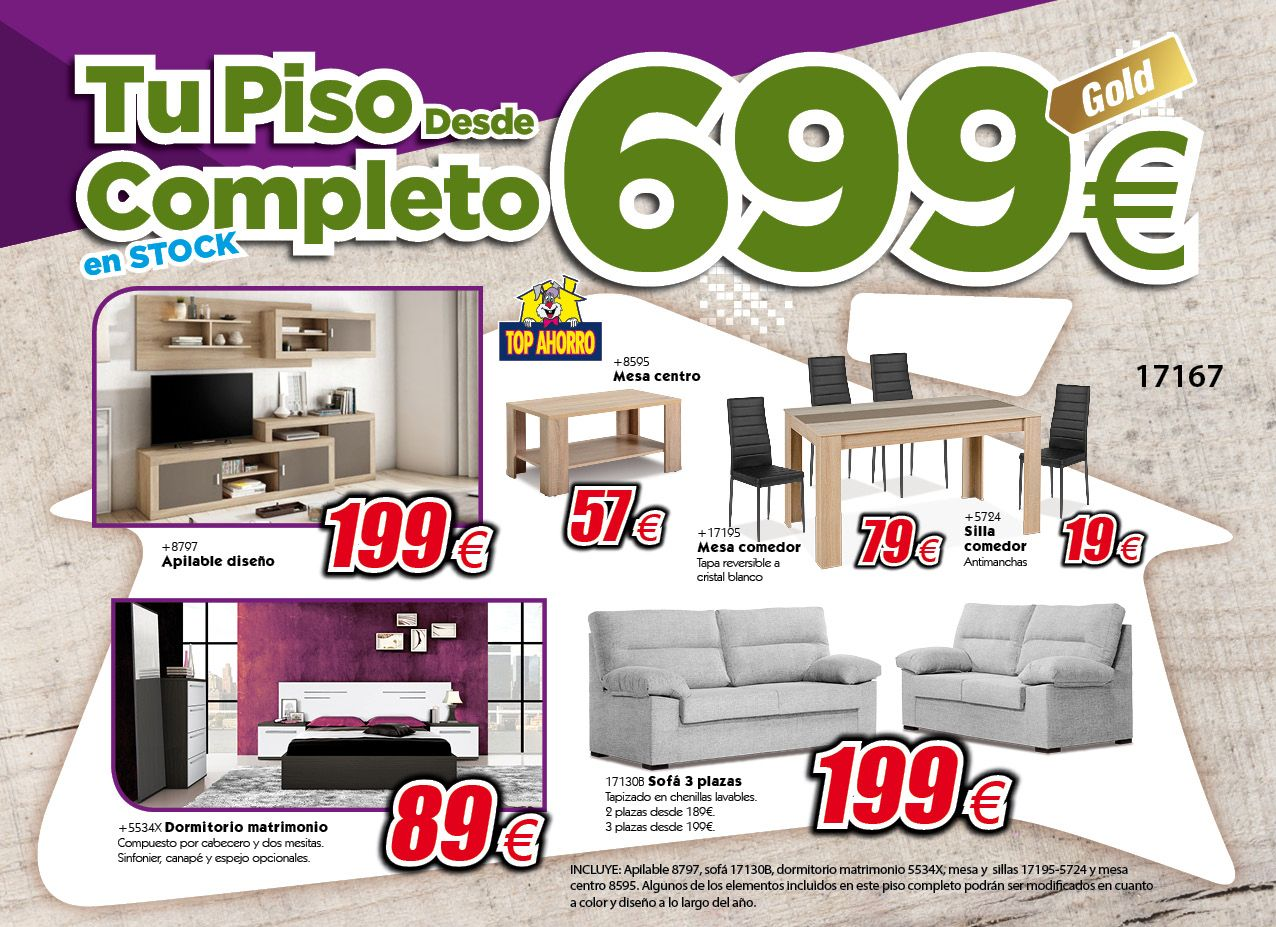 Pisos completos for Muebles piso completo