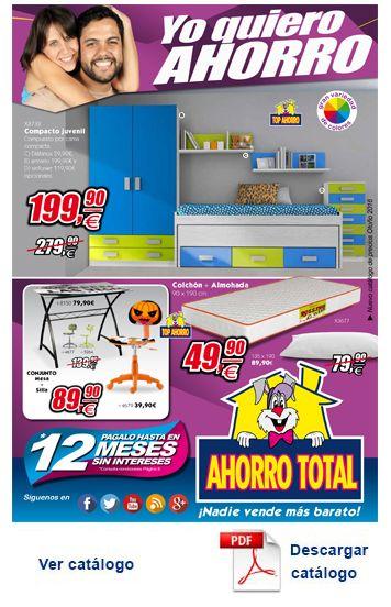 Folletos ahorro total muebles for Ahorro total