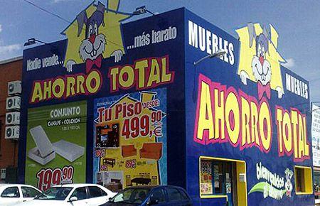Muebles baratos tienda ahorro total collado villalba for Ahorro total villalba