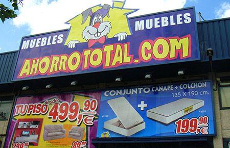 Muebles Baratos  Tienda Ahorro Total SS de los Reyes - Ahorro Total Muebles