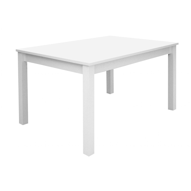 Mesa barata dise o actual extensible blanco 120 cm - Mesa extensible diseno ...