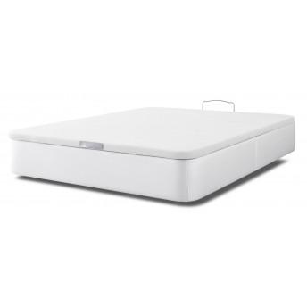 Canapé barato 135x190 polipiel blanco