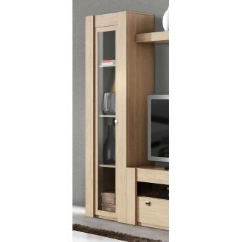 Vitrina diseño actual económica roble oak