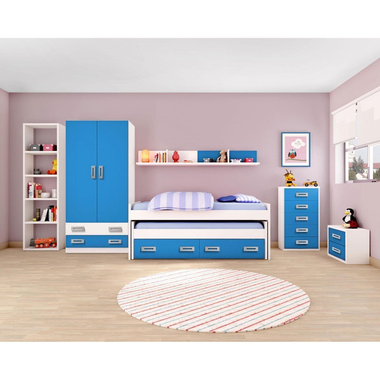 cama compacta barata juvenil opcionales di fanos armario