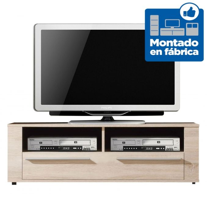 Mesa tv barata dise o moderno roble for Mesas de tv de diseno