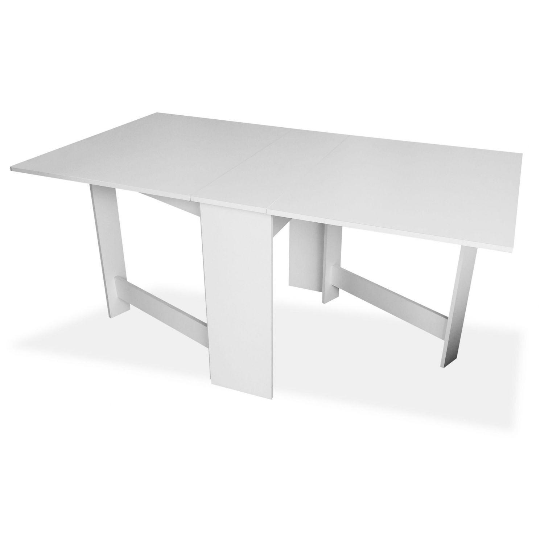Mesa comedor barata diseño moderno blanca 90 cm.