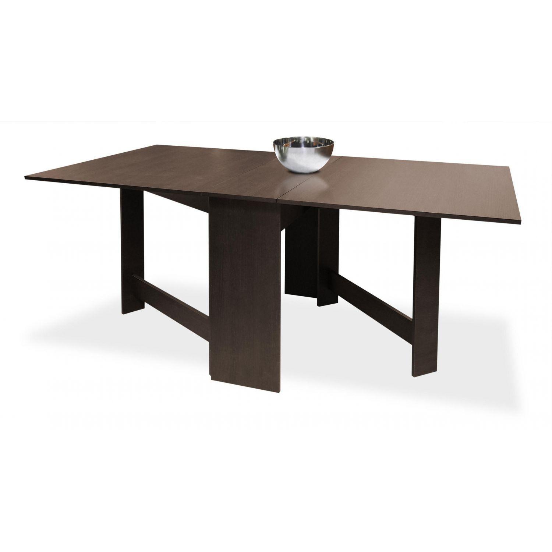 Mesa alas económica wengué en kit 90 cm.