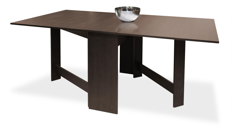 mesa alas econmica wengu en kit 90 cm - Sillas Y Mesas De Salon