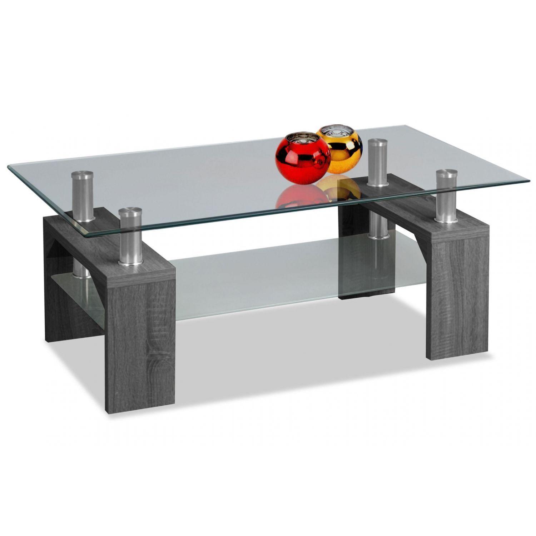 Mesa de centro barata diseño moderno ceniza 100 cm Ancho moderno