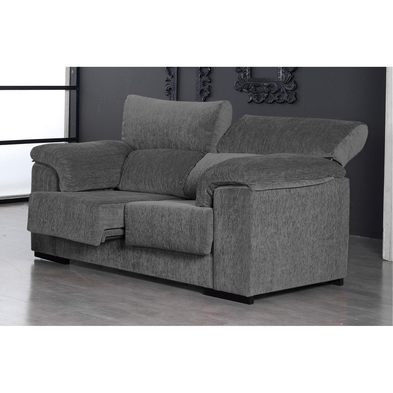 Sof barato marengo 2 plazas dise o actual 170 cm for Sofa 2 plazas barato