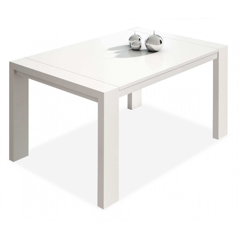 Mesa de comedor diseño moderno extensible 130 cm.