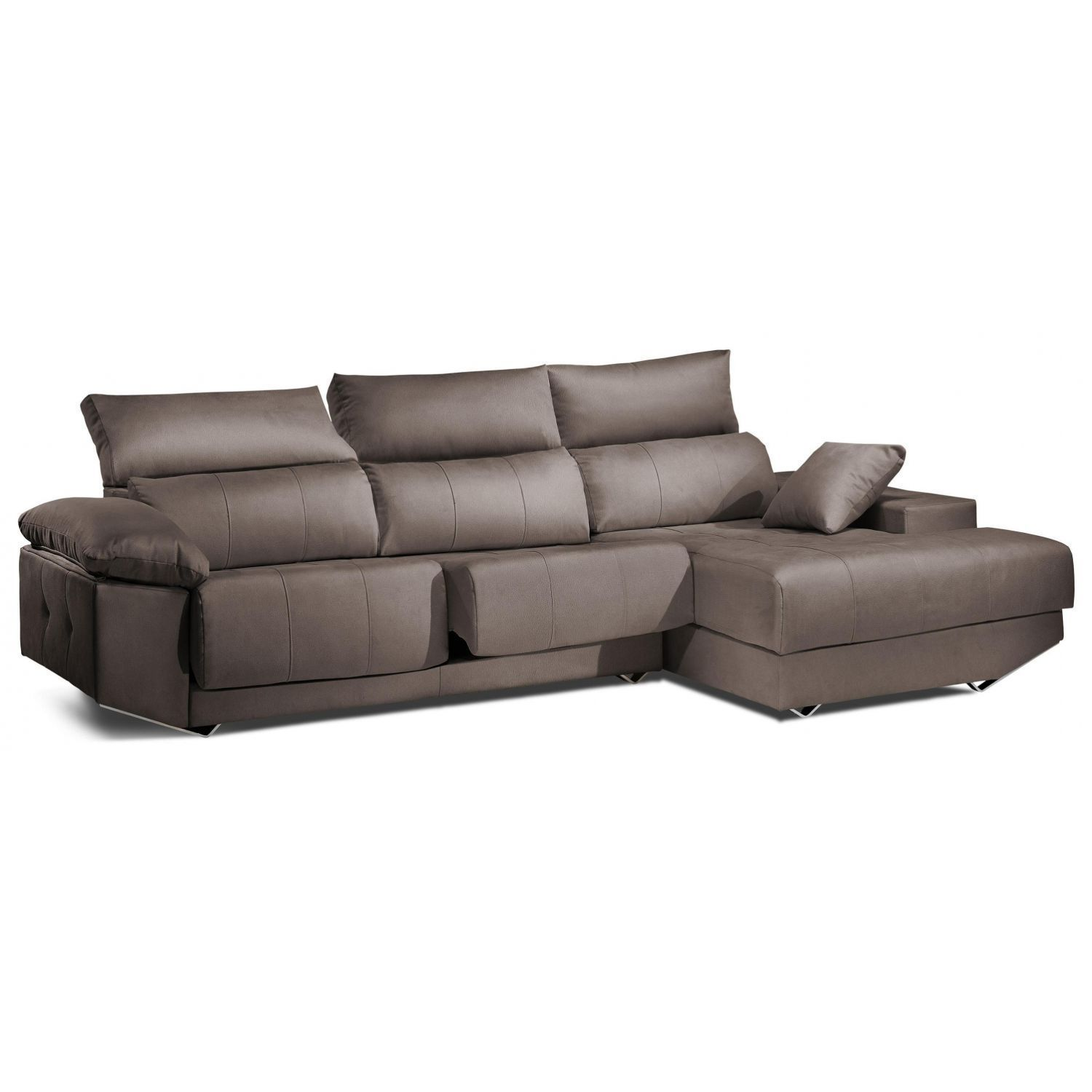 Chaiselongue calidad arena reclinable extensible 260 cm.