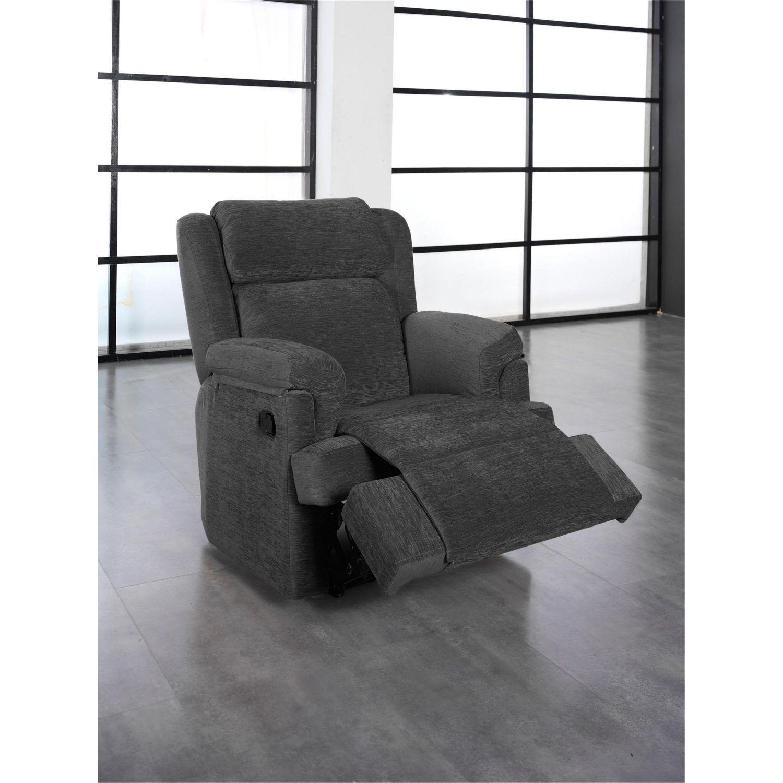 Sillón relax buen precio en color gris
