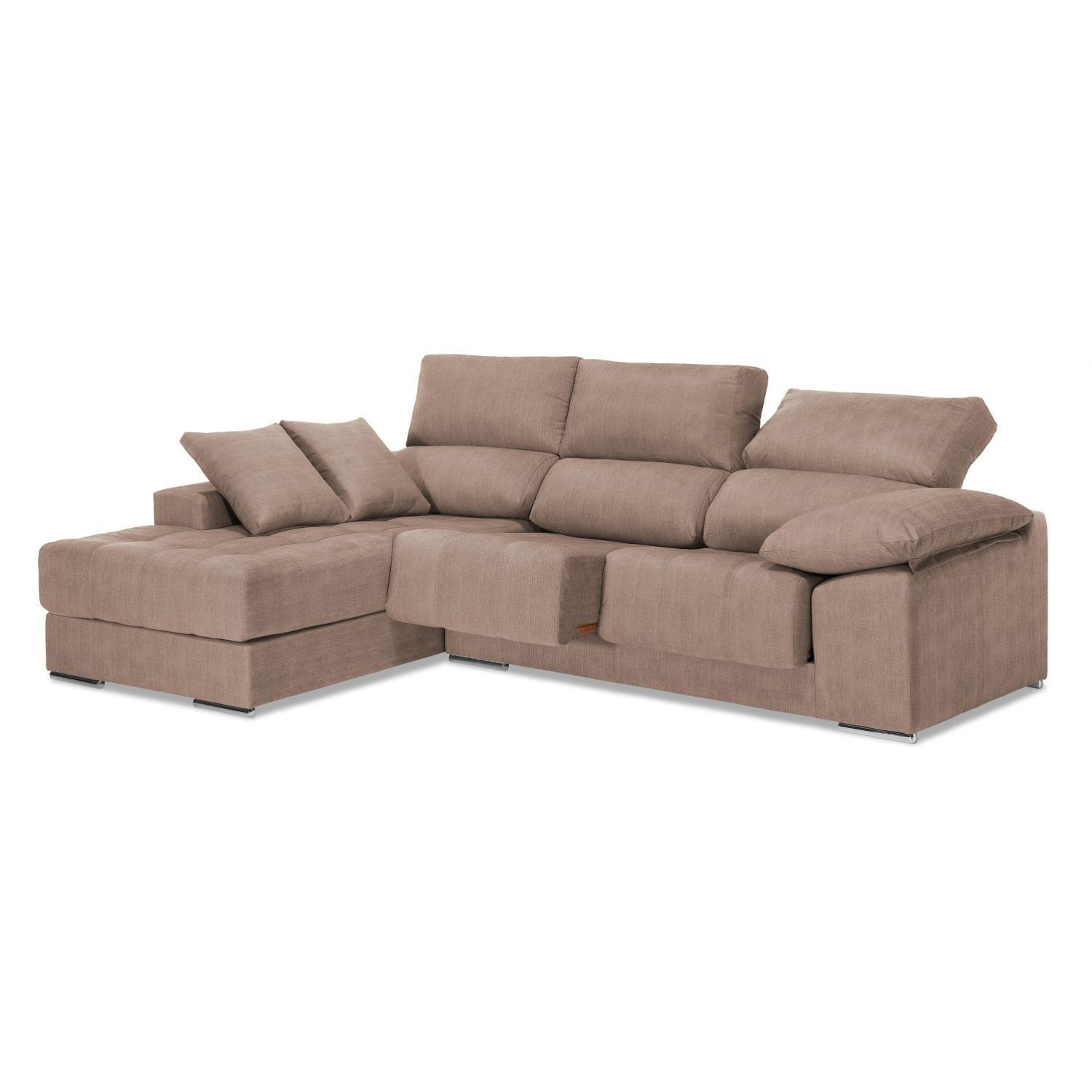 Chaiselongue alta calidad reclinable extensible 260 cm for Sofas de alta calidad