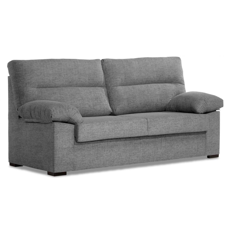 Sofá 3 plazas buen precio gris desenfundable 170 cm