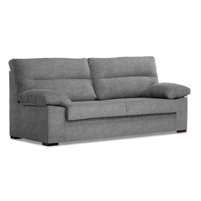 Sof buen precio gris 3 plazas 180 cm - Precio tapizar sofa ...