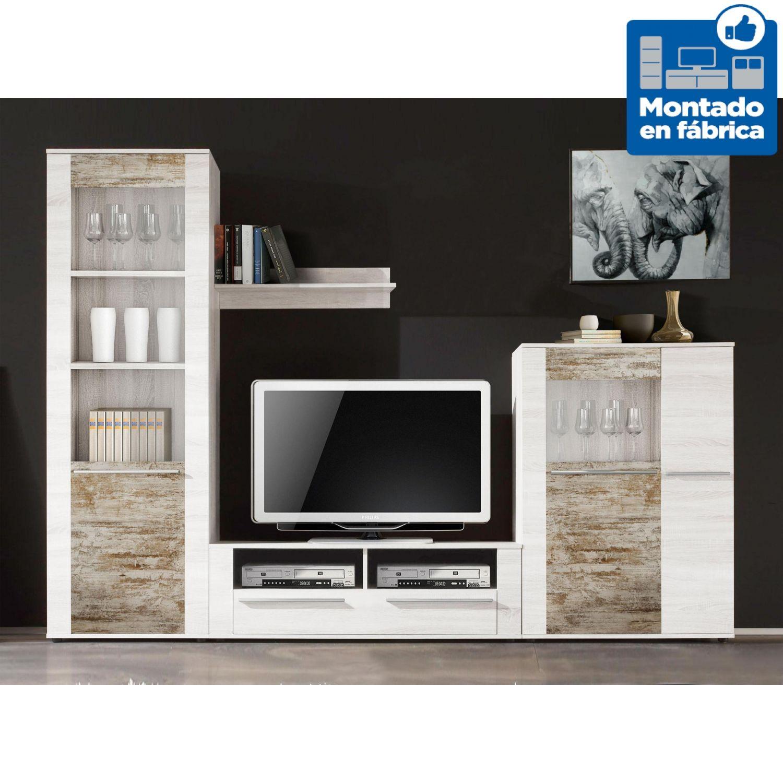 mueble de saln diseo moderno nordic y vintage 280 cm - Muebles De Salon De Diseo
