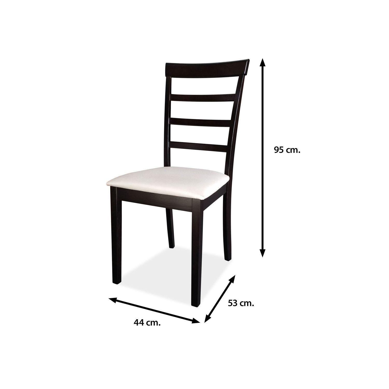 Silla de comedor buen precio wengu beige va en cajas de for Precios de sillas para comedor