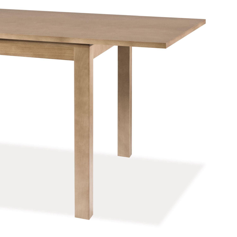 Mesa comedor barata extensible roble 120 cm for Mesas de comedor ofertas
