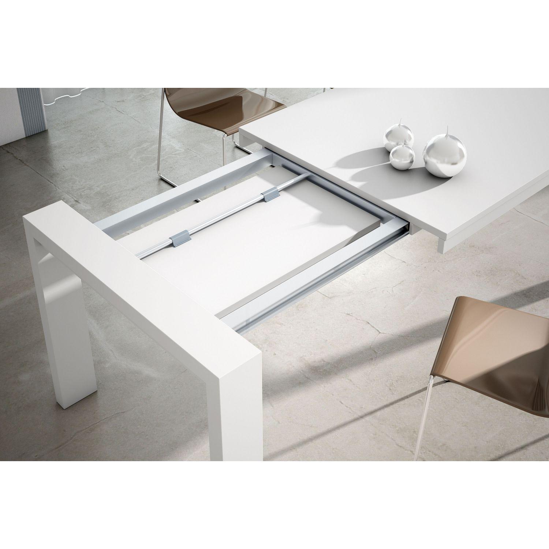 Mesa de comedor dise o moderno extensible 130 cm - Mesa extensible diseno ...