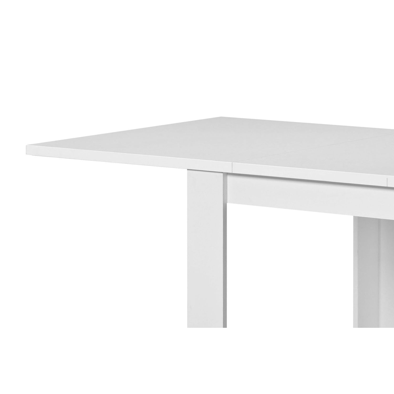 Mesa comedor blanca (extensible) 120 x 80 cm   Ahorro Total