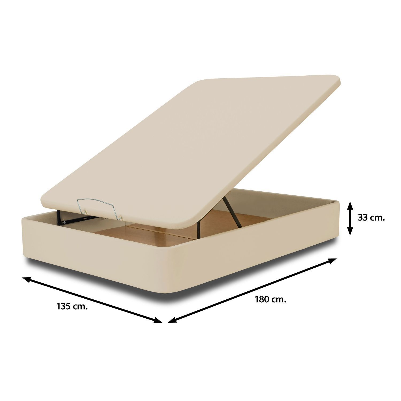 Canap barato moderno beig gran capacidad 135x180 for Canape 150x190