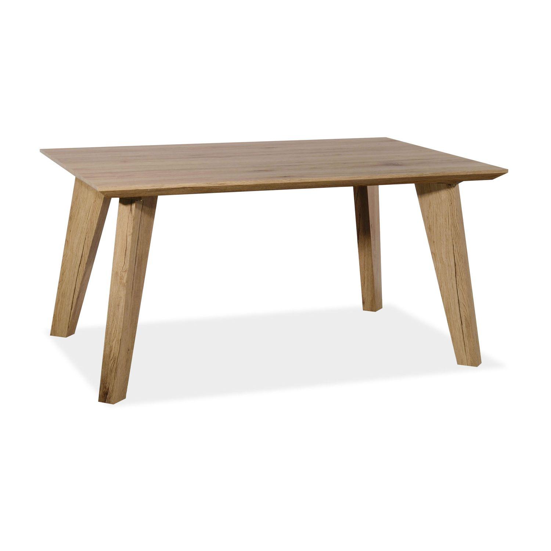 Mesa comedor buen precio diseño nórdico en roble 150 cm.