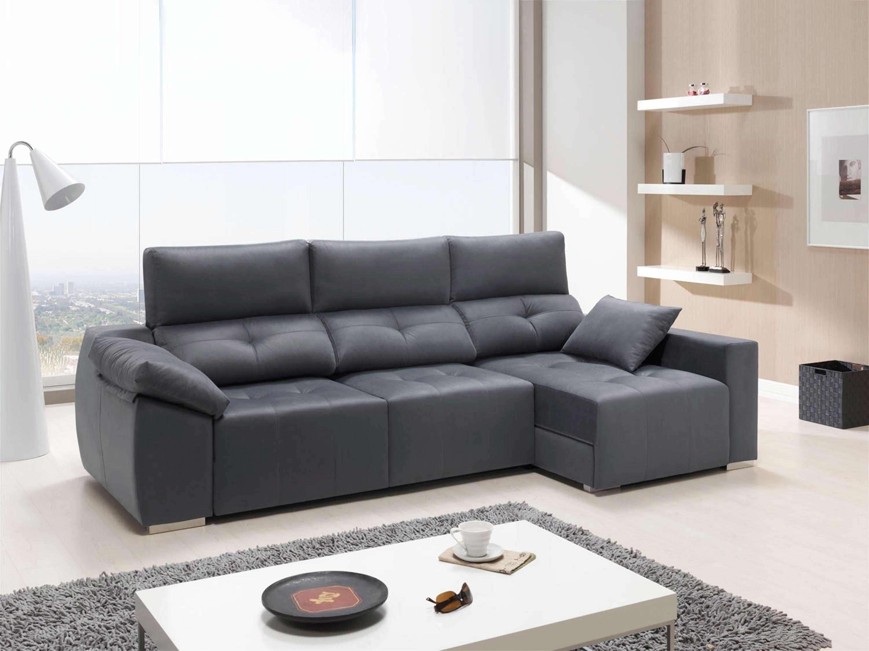 chaiselongue multifunicn alta calidad reclinable extensible y arcones 304 cm - Sofas Modernos Baratos