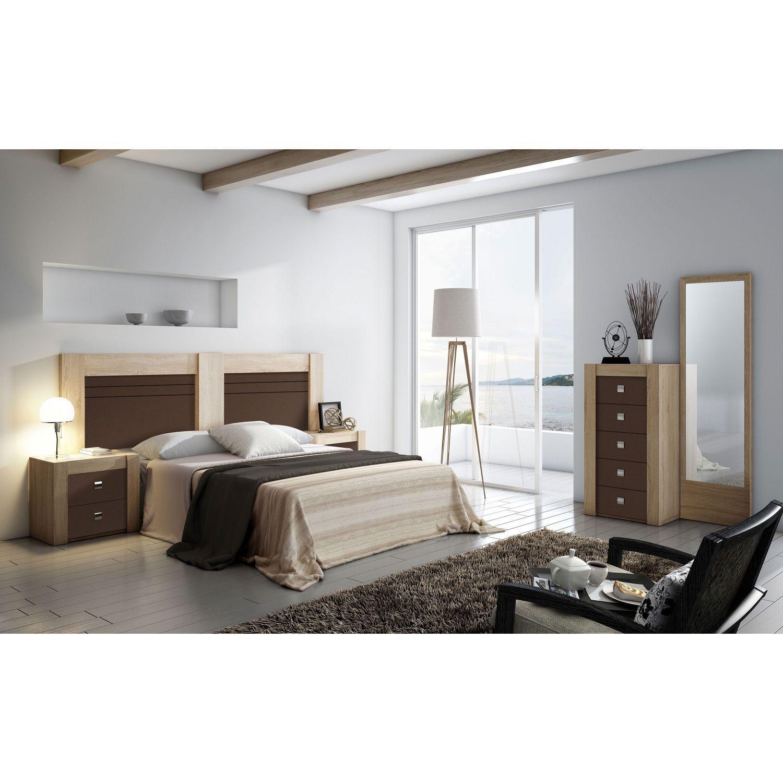 Dormitorio buen precio con cabecero y dos mesitas for Dormitorios ahorro total