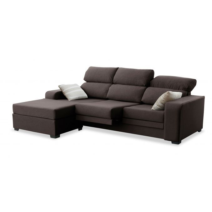 chaise longue buen precio dise o actual color choco