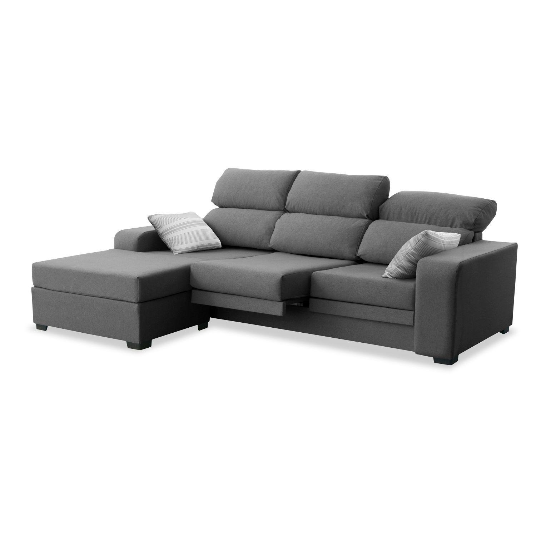 Longue Buen Precio Dise O Actual Gris Marengo ~ Cuanto Cuesta Tapizar Un Sofa Chaise Longue