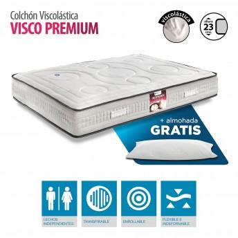 Colchón Viscoelástico gran calidad 135X190 con almohada GRATIS