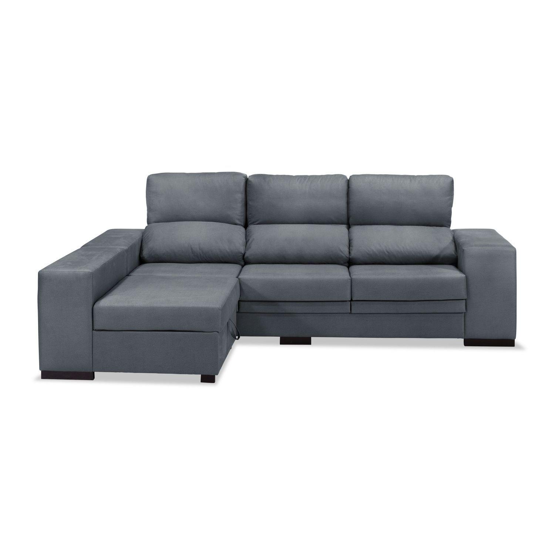 Sof chaise longue reclinable extensible marengo 240 cm - Sofa extensible ...