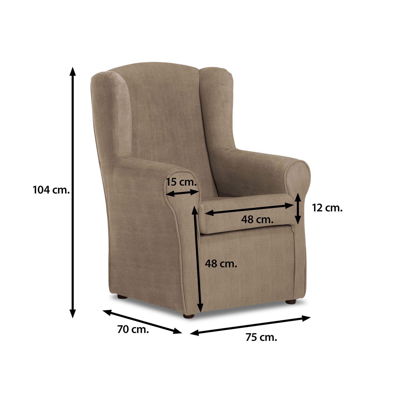 Tapizar sillon orejero precio excellent sillon y silla provenzal antiguo a tapizar precio x - Precio tapizar sillon orejero ...