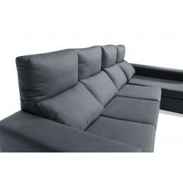 Sofá chaise longue marengo reclinable extensible 270 cm.