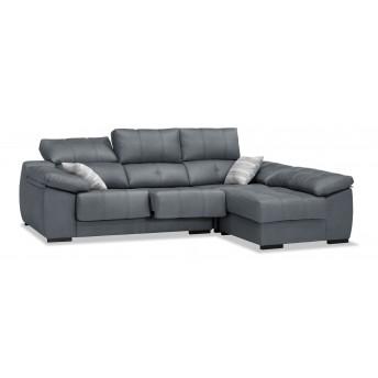 Sofá chaiselongue marengo reclinable extensible 270cm.