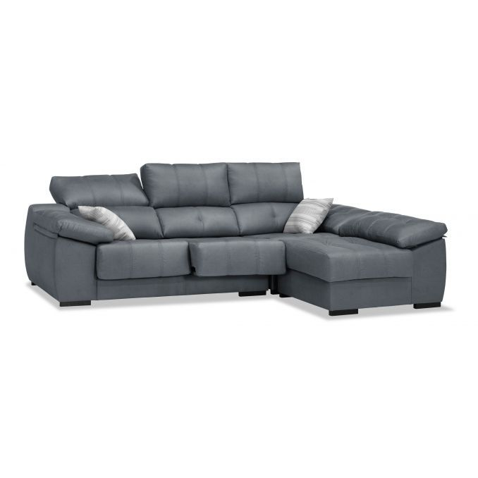 Sofá chaiselongue marengo reclinable extensible 260 cm.