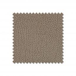 Sofá chaise longue reclinable y extensible beige con arcón abatible y 2 taburetes. 270 cm.