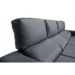 Sofá chaise longue 4 plazas marengo 270 cm.