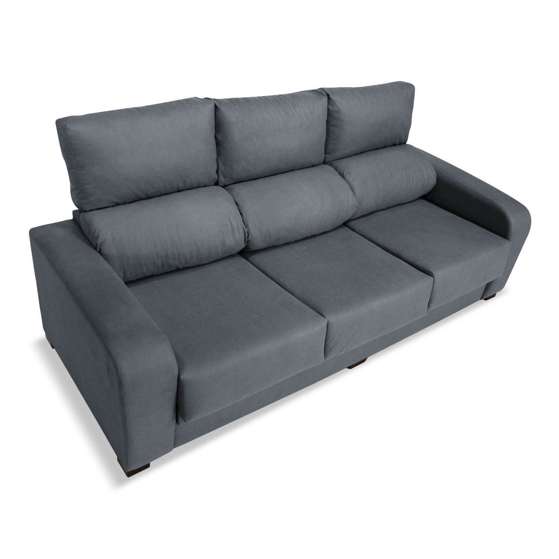 Sofá 3 plazas London reclinable extensible desenfundable ...