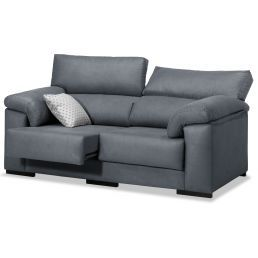 Sofá barato marengo 2 plazas diseño actual 168 cm