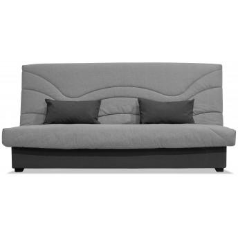 Sofá cama sistema Clic Clac 190 cm. color gris