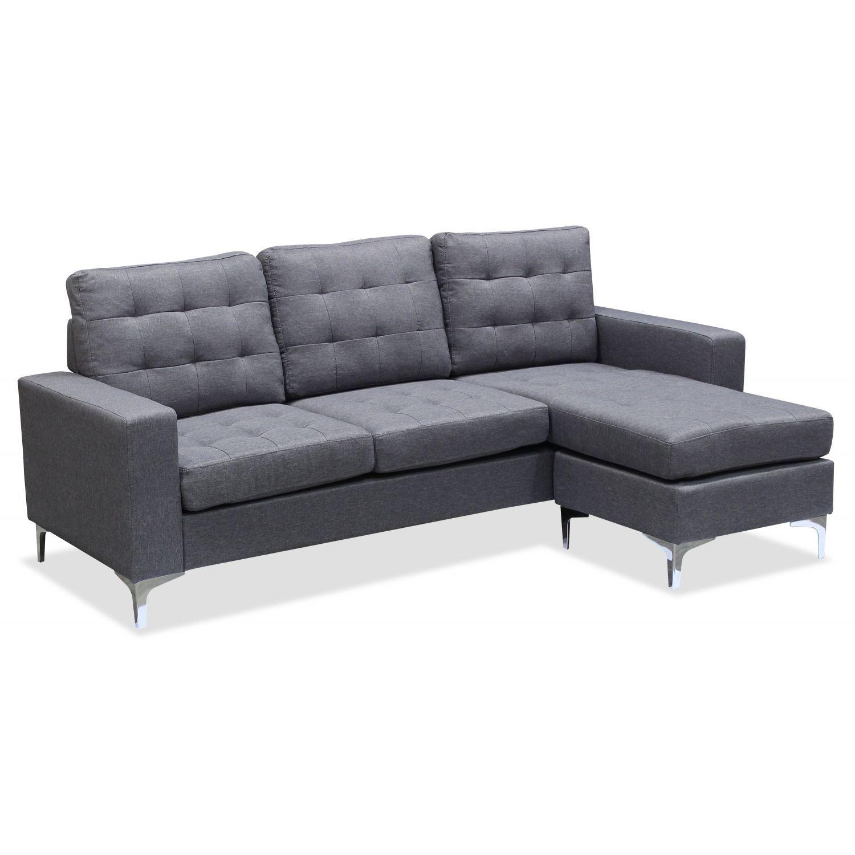 Sofá chaise longue Cazorla 193 cm.