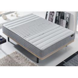 Conjunto canapé y colchón 135x190 Blanco Pacific
