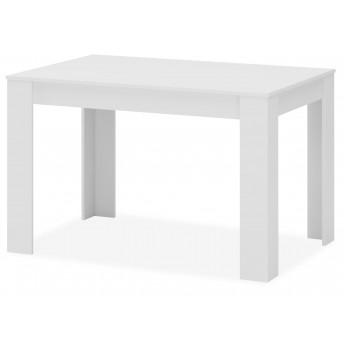 Mesa comedor extensible Justin blanco 120 cm.