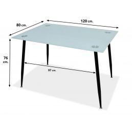Mesa comedor Mod.Olivo 120x80