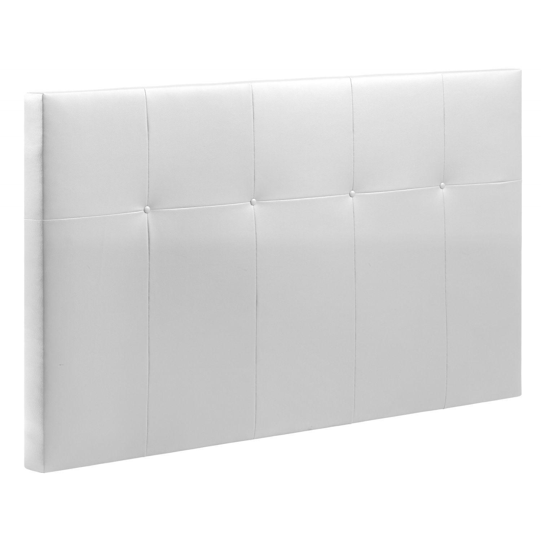 Cabecero cama 18C blanco 135-150 cm.