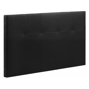 Cabecero cama 18C negro 135-150 cm.