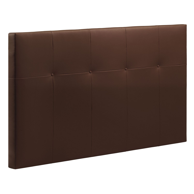 Cabecero cama 18C choco 135-150 cm.