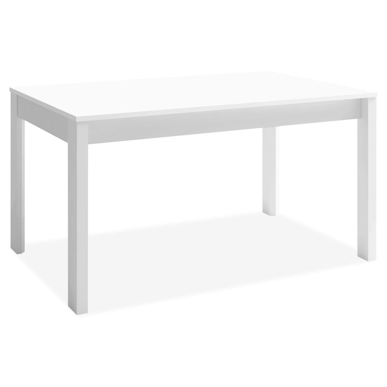 Mesa comedor extensible Ossa blanco 140x90